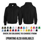 New Plain Gildan Heavy Blend Hoodie Hoody Hooded Sweatshirt Top Sweat Jumper