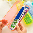 Plastic Travel Camping Toothbrush Toothpaste Storage Box Cover Protect Case