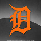 """Detroit Tigers Logo Vinyl Decal Sticker - 4"""" and Larger - 30+ colors available"""