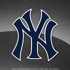 "New York Yankees NY Vinyl Decal Sticker - 4"" and Larger Sizes Available MLB on Ebay"