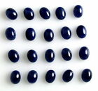 11mm/13mm/14mm Natural Oval Cabochon Blue Sapphire Loose Gemstone Wholesale Lot
