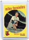 1959 Topps Baseball Card Mike Fornieles Pitcher Boston Red Sox Near Mint # 473