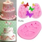 3D Butterfly Cake Silicone Chocolate Fondant  Baking Tools Decorating Mold Model