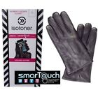 ISOTONER SMARTOUCH WOMEN ALL SIZES GENUINE LEATHER GLOVES TOUCHSCREEN COMPATIBLE