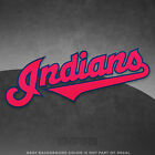 "Cleveland Indians Jersey Logo Vinyl Decal Sticker MLB - 4"" and Larger - Glossy on Ebay"