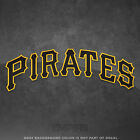 Pittsburgh Pirates Jersey Logo Vinyl Decal Sticker MLB 4 and Larger Glossy