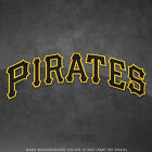 "Pittsburgh Pirates Jersey Logo Vinyl Decal Sticker MLB - 4"" and Larger - Glossy on Ebay"