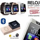 Reloj inteligente DZ09 Telefono SIM Bluetooth SmartWatch para Android IOS color
