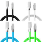 Zinc Alloy Type-C USB-C Fast Sync Data Charging Cable Line Cord For Mobile Phone