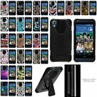 For HTC Desire 626s Protecetive Dual Layer Case Cover With Built-in Kickstand