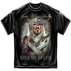 Give Me Libery Or Give Me Death Adult Graphic T-Shirt Tee