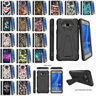 For Samsung Galaxy On5 Hybrid Dual Layer Protective Case w/ Built-in Kickstand