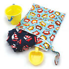 Bumkins Waterproof Wet and Dry Bag - Leak free storage - Two compartments