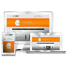 Standard Responsive Mobile Auktionsvorlage HTML Template Crarity 2017 Orange