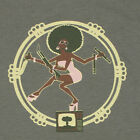 Afro Shiva: Kung Foo Assassin T-Shirt