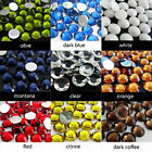 wholesale 50000p resin non hotfix 3d nail art rhinestones gems flatback beads