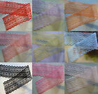 Wholesale 10-200yards embroidery lace ribbon colors can be selected 15Color
