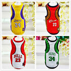 Dog Vest Pet Clothing Puppy Clothing Dog Sport Summer Shirt Basketball XS-6XL