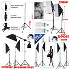 NEW Photo Studio Lamp Softbox Continuous Video Lighting Light Boom Arm Stand Kit