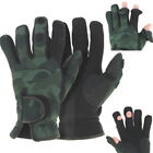 Fishing Gloves Neoprene Camo, Folding Fingers, Hunting, Shooting, M,L & XL NGT