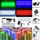 US 100FT SMD 5050 3 LED Module Store Front Window Light Sign Lamp +Remote +Power