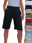 ICE (1492) Ladies Smart Washable Day Evening Tailored Shorts 8-22