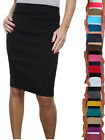 "ICE (2495) Office School Stretch Pencil Skirt 22"" Smart Casual 6-18"