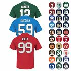 "NFL ""Eligible Receiver"" Player Name & Number Jersey T-Shirt Collection Men's $12.99 USD on eBay"