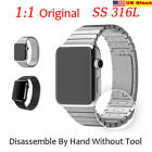 Watchband Stainless Steel 1:1 316L Link Bracelet Strap For Apple Watch USA FAST