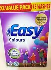 Easy COLOURS WASHING POWDER Fade Resistant XL 75 Washes 5.1kg BARGAIN