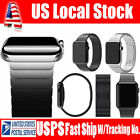 Xmas Gift For iWatch Link Bracelet 316L Stainless Band Watch 38/42 Strap US FAST