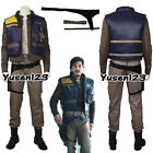 Rogue One A Star Wars Story Cassian Andor Cosplay Costume Uniform Men Clothing