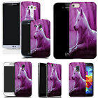 hard durable case cover for iphone & other mobile phones - wolf pink