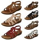 Ladies Clarks Manilla Bonita Leather Casual Sandals D Fitting