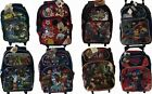 """Toy Story, Superman, Mickey, Paw Patrol, Avengers 16"""" Large Roller Backpack"""