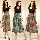 New Women Summer Boho Long Maxi Evening Party Dress Beach Dresses Tank Sundress