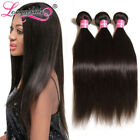 7A Indian Virgin Hair Straight 100g/300g Raw Indian Straight Human Hair Bundles