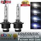 2x D2s Xenon Hid Headlight For 66040 66240 85122 53500 Replacement Bulbs - 35w