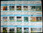 Manchester  City  league & cups  home  1980-1981   all with token    vgc