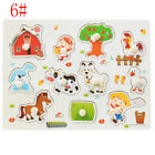 Game Early Educational Alphabet/Digit Learning Hand Grasp Jigsaw Toys