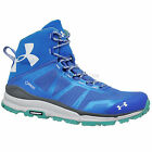 New Under Armour Mens UA Verge Mid GTX Gore-Tex Hiking Boots Trail Shoes : Blue