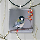 BIRD CHICKADEE #4 PENDANT NECKLACE 3 SIZES CHOICE -jdr5Z