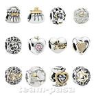 ORIGINAL PANDORA ELEMENT SILBER GOLD SCHMUCK NEU ALE 925 BEAD CHARM BEAD GOLD