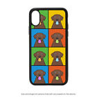 Chocolate Lab Retriever Case For iPhone X XS Max XR 8 7 6 5, Galaxy S9 S8 S7 S6