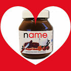 PERSONALISED VALENTINES NUTELLA LABEL GIFT FOR MAN OR WOMAN, HIM OR HER
