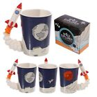 Moon Landing Space Rocket Handle Tea Or Coffee Mug