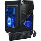 Custom AMD 4.0GHz Gaming Computer Desktop PC System 2TB 16GB 1TB 8GB HDMI New