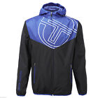 Sergio Tacchini Payton Mens Retro Track Top Jacket Navy Blue