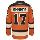 2012 Wayne Simmonds Philadelphia Flyers Orange Winter Classic Premier Jersey Men