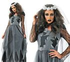 Corpse Bride Costume - Halloween Fancy Dress - New And Sealed Scary Dead